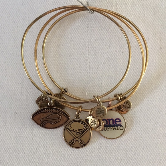 f8d4a933447 Alex and Ani Jewelry - Alex   Ani Buffalo NY sports bangles